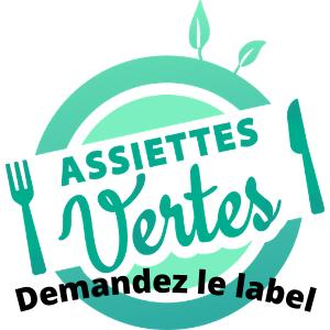 Valorisez votre choix végétal en restauration collective avec le label Assiettes Vertes