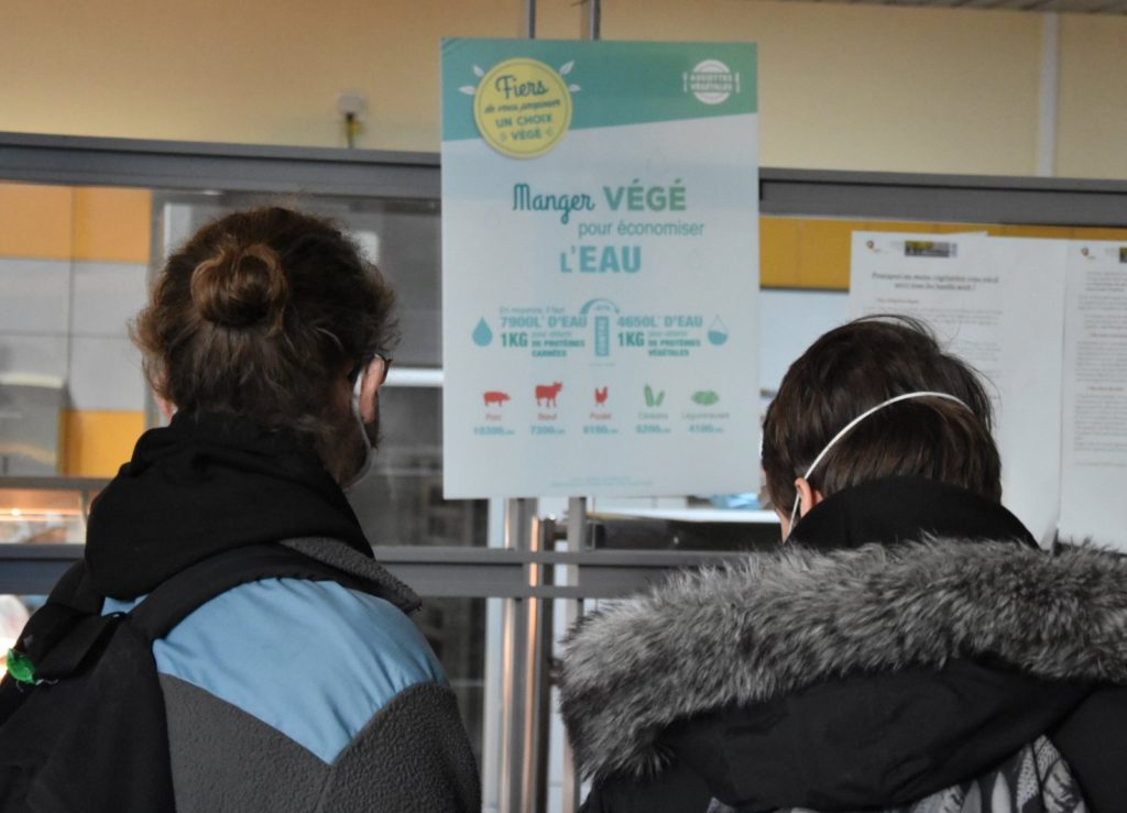 Une Semaine Verte dans les Assiettes pour des lycéens de Nancy