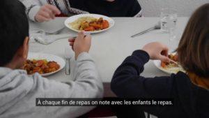 Il y a tous les jours un choix végétarien à l'école Les Roseaux (Gries, Bas-Rhin)
