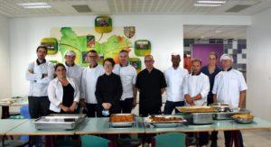 10 chefs de lycées se forment à la cuisine végétale avec Assiettes Végétales